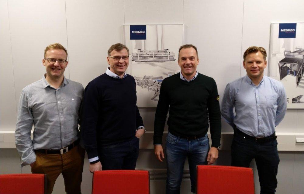 Anders Asplund, Mats Strandvall, Mesmec ja Mikkel Jacobsen , Magnus Fossheim, Carsoe A/S